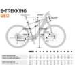 KTM MACINA CROSS 610 Férfi Elektromos Cross Trekking Kerékpár 2021