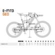 KTM MACINA RACE 292 Férfi Elektromos MTB Kerékpár 2021