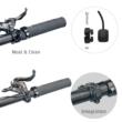 Litemove AE-130 (High/ Low Beam) FORK Elektromos Kerékpár Integrált Első Lámpa 2021