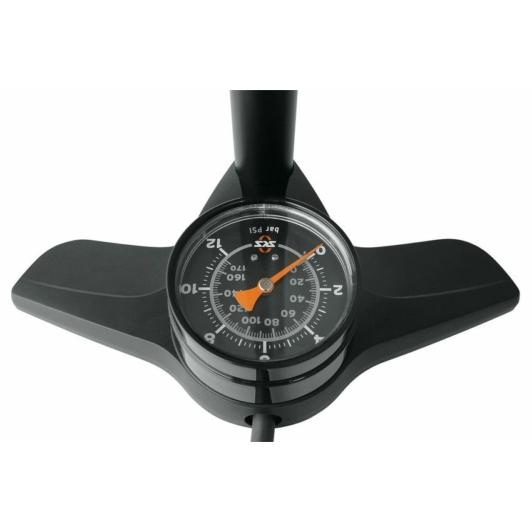 SKS-Germany Airkompressor 12.0 kerékpár műhelypumpa [fehér]
