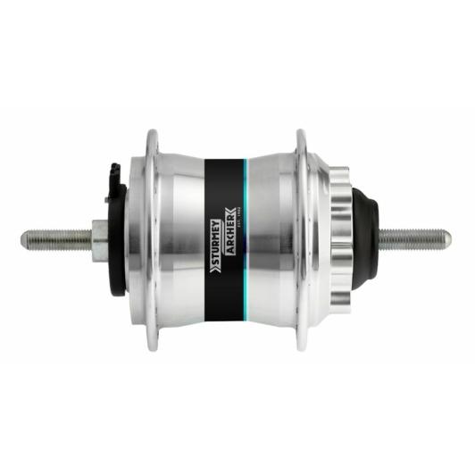 Sturmey Archer HDS22 kerékpár agydinamó [ezüst, 36 L]