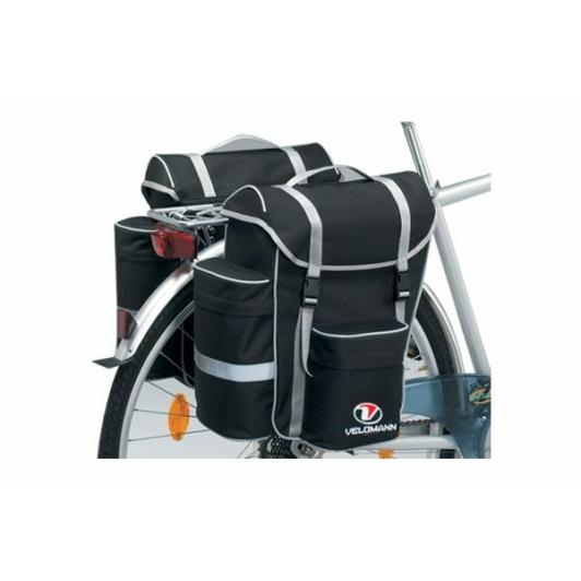 Velomann Adventure 2 részes táska csomagtartóra