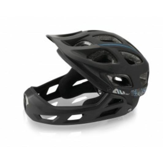 Kerékpáros Sisak/Fejvédő XLC All MTN Full Face S/M (52-56cm) fekete BH-F05