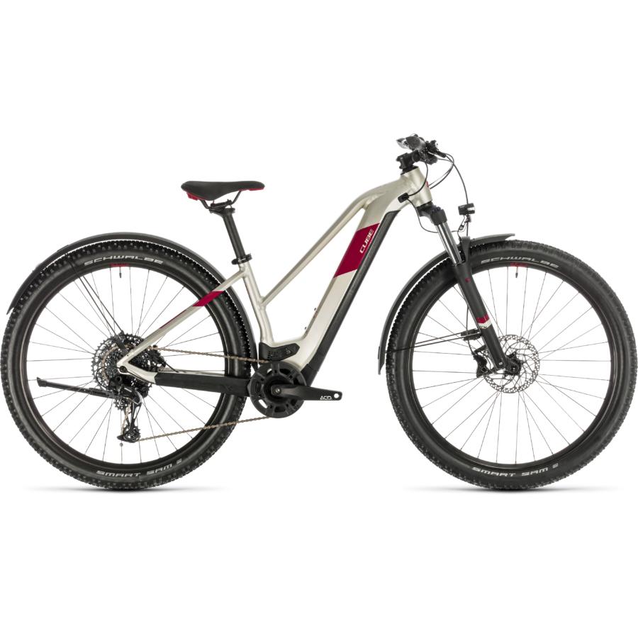 CUBE ACCESS HYBRID EX 625 ALLROAD 29 TRAPÉZ Női Elektromos MTB Kerékpár 2020