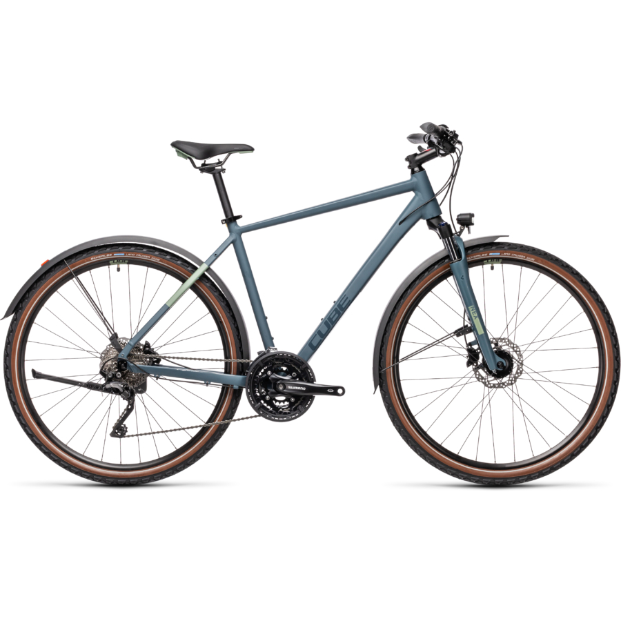 """CUBE NATURE PRO ALLROAD BLUE´N´GREEN 28"""" 2021"""