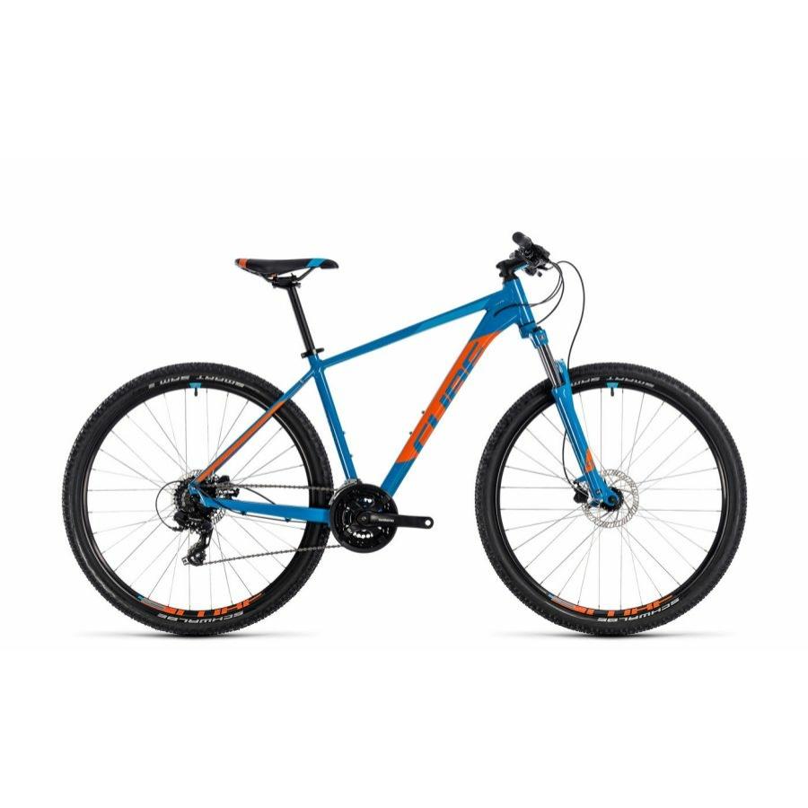"""CUBE AIM PRO BLUE´N´ORANGE 2018 27,5"""" és 29"""" MTB Kerékpár"""