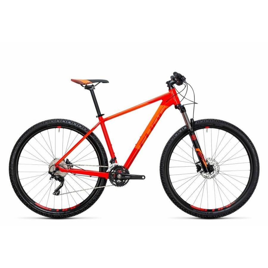 "Cube Attention red´n´flashorange 2017 27,5"" MTB Kerékpár"